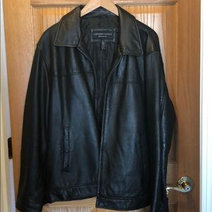 Other - Cambridge Classics Leather Coat. Large. Like New!